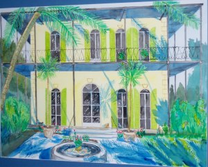 Art - Hemingway House c2005 For Website