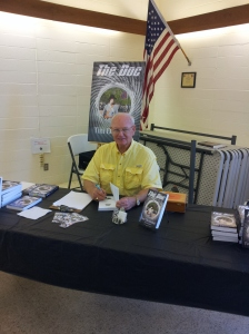 Tim at madera Co Library Signing event 2014-08-15