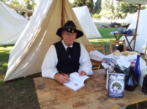 Photo for blog - Tim Signing at Kearney Park October 2014