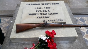 SCV - Jerry Ryan Memorial marker