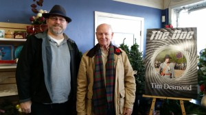 Author - Steve Hammond and me Nov 28 - 2015