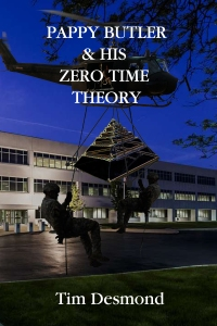 Art - final cover by Jack - Pappy Butler & His Zero Time Theory